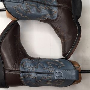 Justin's Cattleman Tan 8 1/2 kids Boot